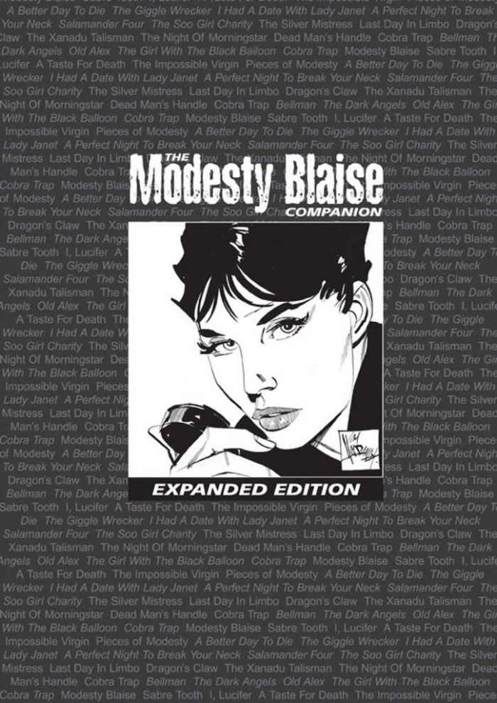 The Modesty Blaise Companion Expanded Edition