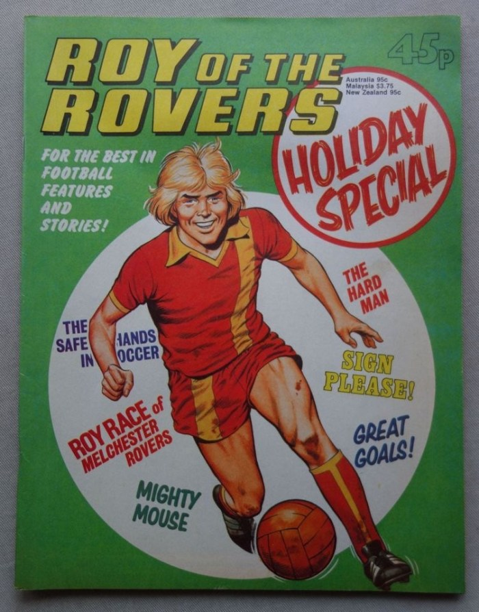 Roy of the Rovers Holiday Special 1980