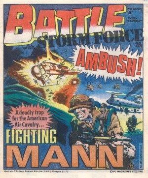 Battle and Storm Force Issue 617, cover dated 28th February 1987