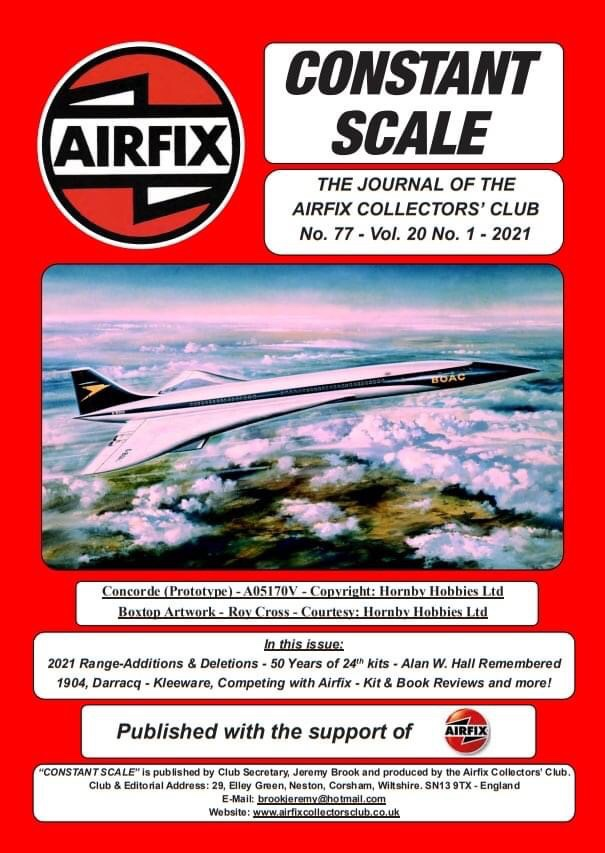 Airfix Collectors Club's Constant Scale Issue 77 - Cover