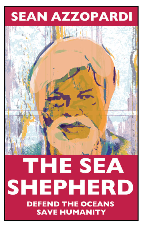 Sean Azzopardi - The Sea Shepherd - Cover