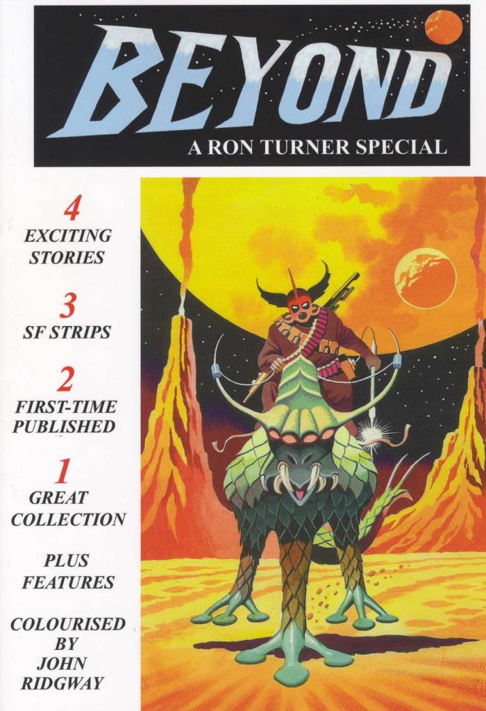 Ron Turner's Beyond - Cover