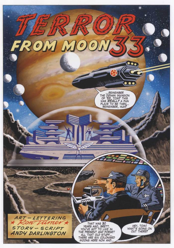 Ron Turner's Beyond - Terror from Moon 33