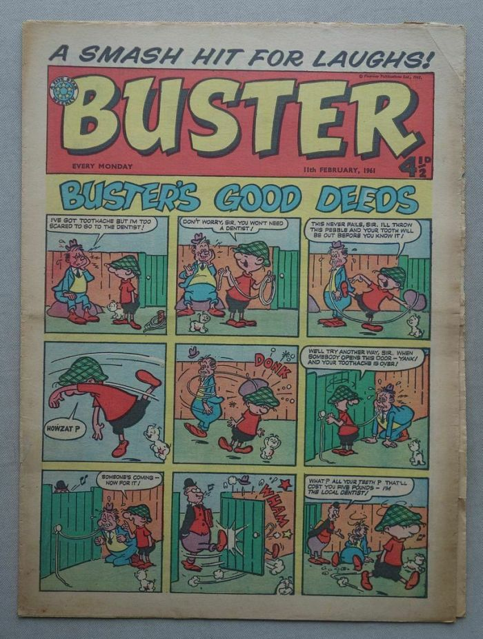 Buster, cover dated 11th February 1961