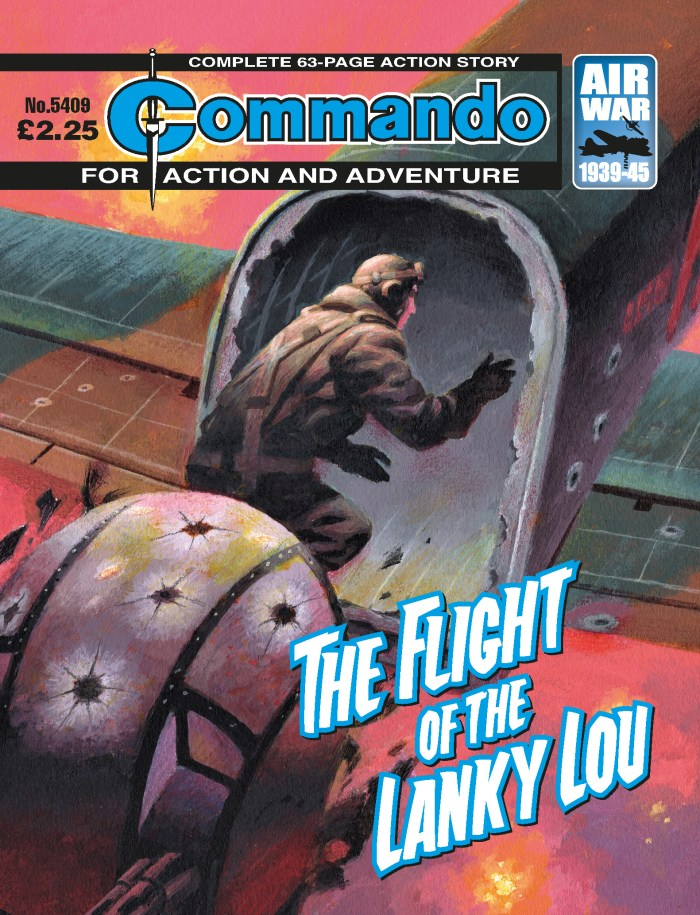 Commando 5409: Action and Adventure: The Flight of the Lanky Lou