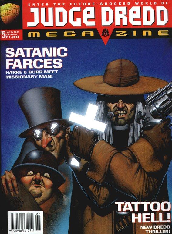 Judge Dredd Megazine 5
