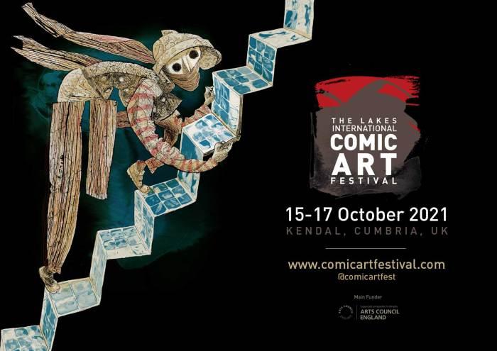 Lakes International Comic Art Festival 2021 Art by Dave McKean