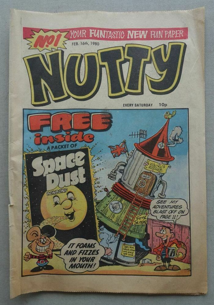 Nutty No. 1, cover dated 18th February 1980