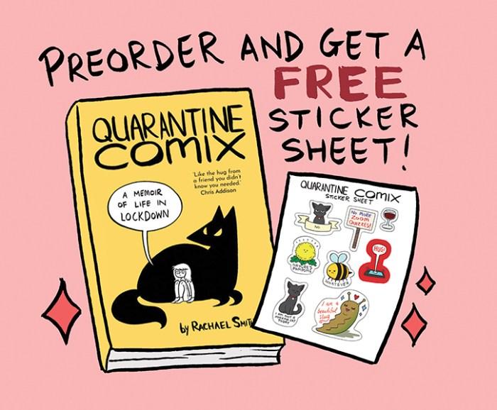 Quarantine Comix: A Memoir of Life in Lockdown - Stickers