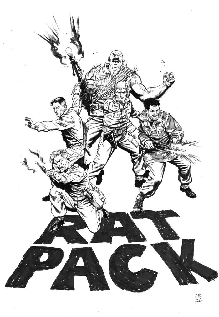 Rat Pack by Patrick Goddard. Rat Pack © Rebellion Publishing