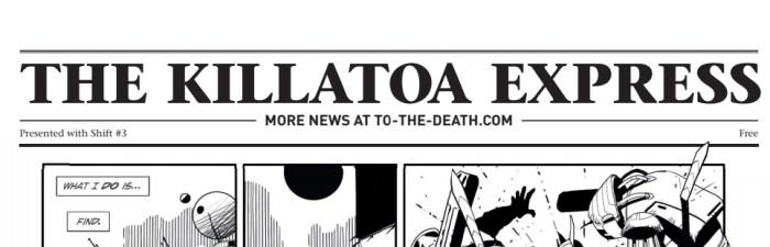 SHIFT No. Three - Killatoa Newspaper
