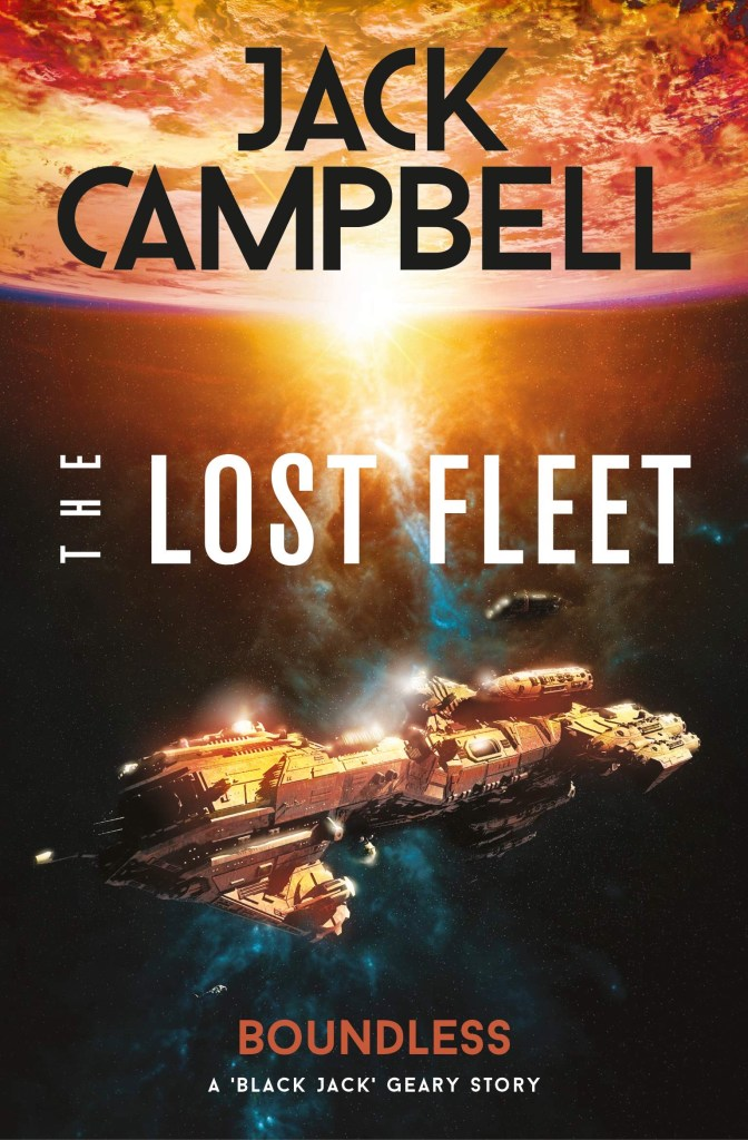 The Titan Books cover for Boundless - The Lost Fleet - Outlands