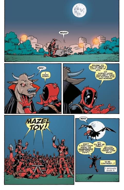 Deadpool: Pool Party! Sample Pages