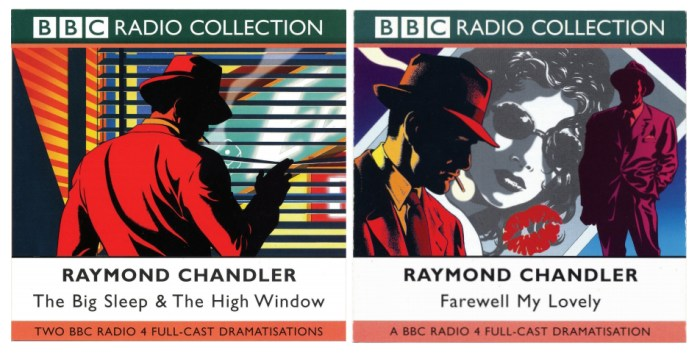 BBC Radio Collection Raymond Chandler covers by Garry Leach
