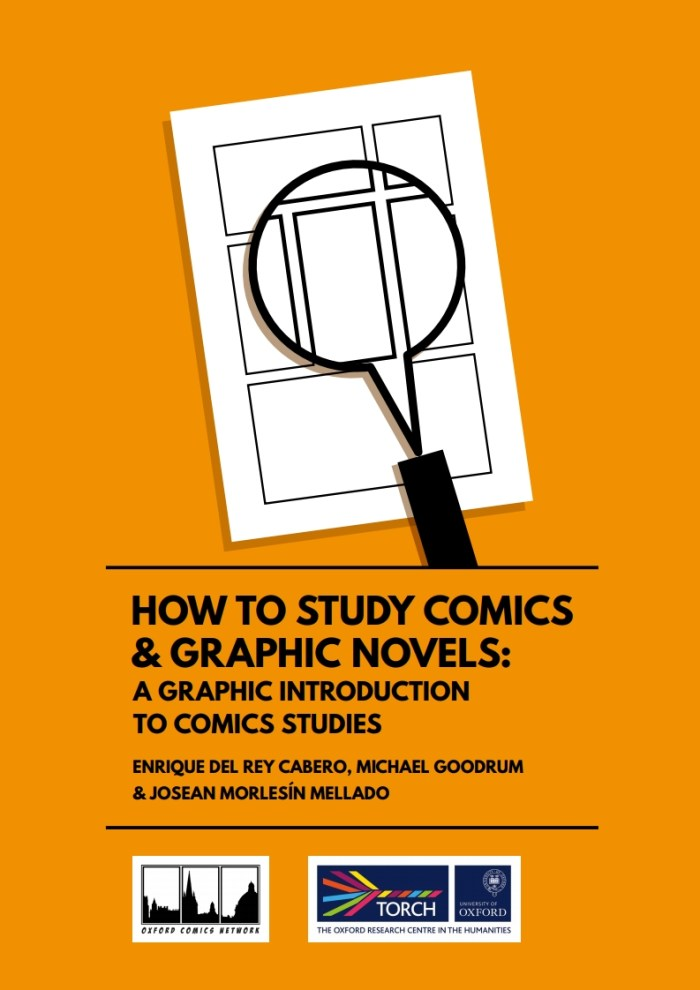 Oxford Comics Network & TORCH A Graphic Introduction to Comics Studies - Cover