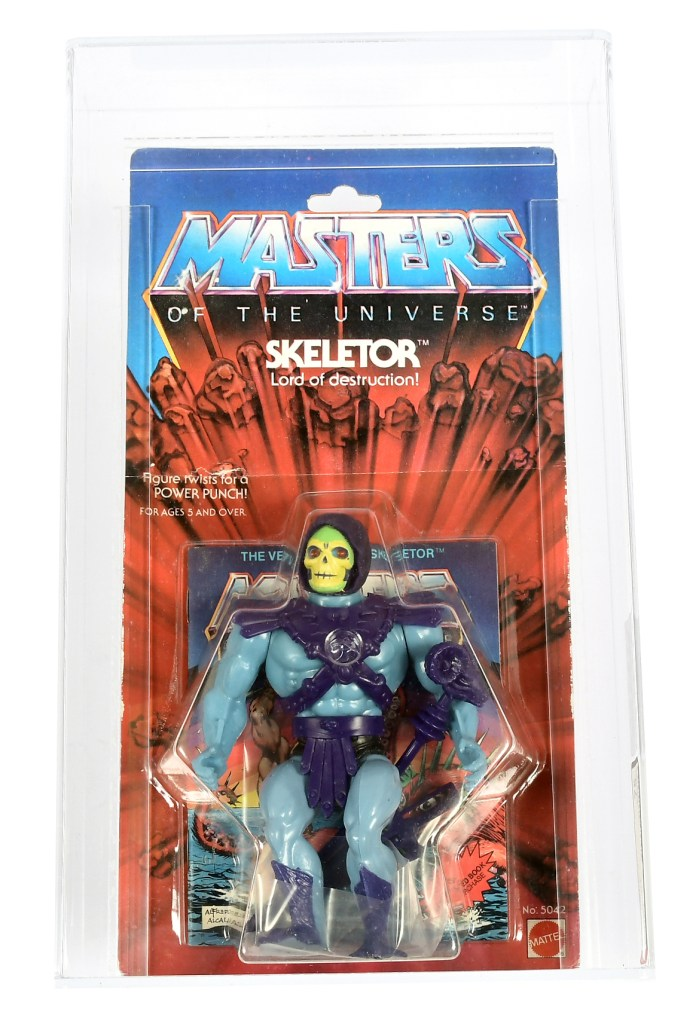 Mattel 1981 Masters of the Universe series 1 Skeletor figure