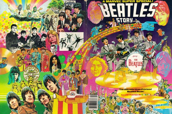 Marvel Super Special #4 - The Beatles Wraparound Cover