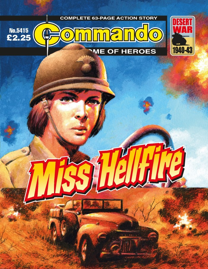 Commando 5415: Home of Heroes: Miss Hellfire