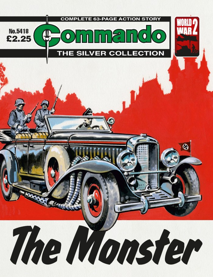 Commando 5418: Silver Collection: The Monster