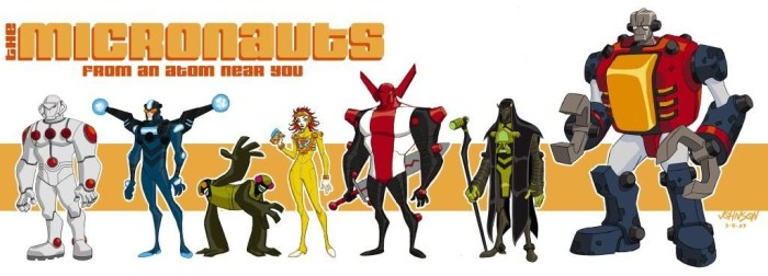 Micronauts from Boulder Media