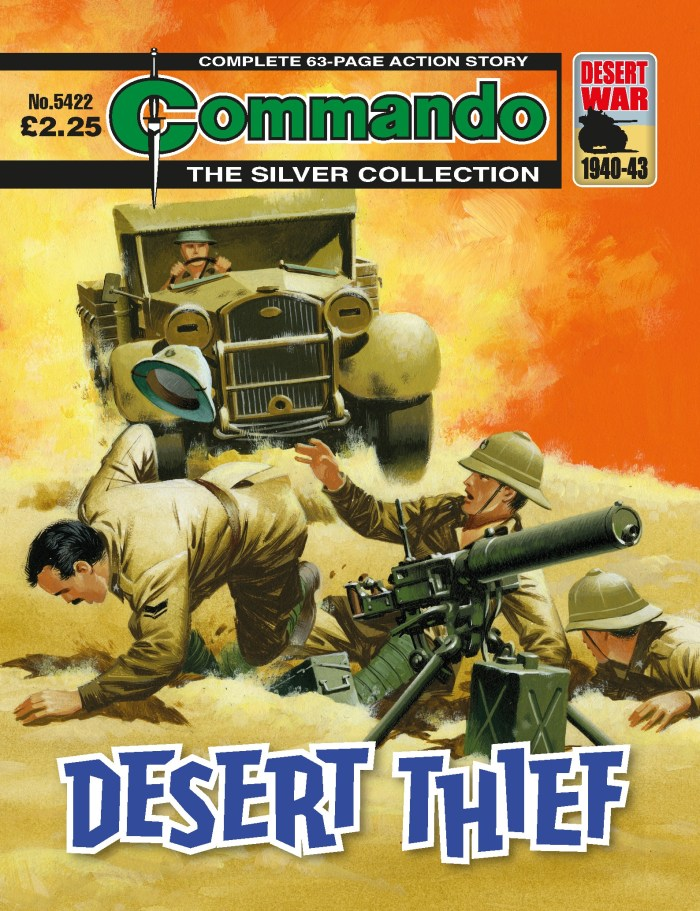 Commando 5422: Silver Collection - Desert Thief