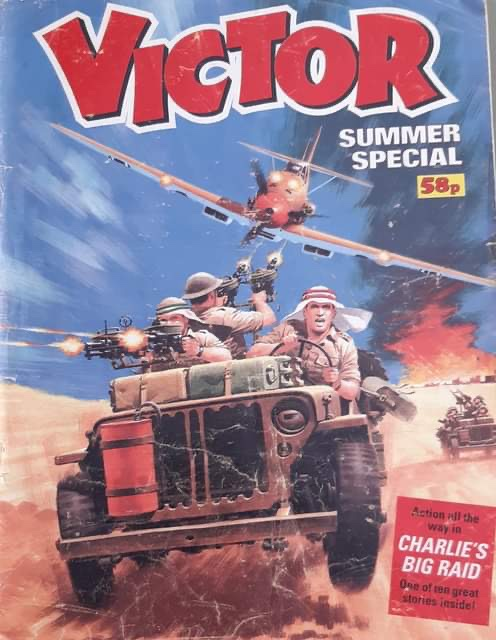 Victor Summer Special 1987. Cover art by Ian Kennedy