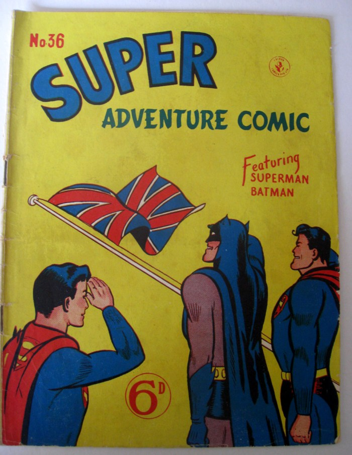 Atalas UK - Super Adventure Comic 36 featuring Batman and Superman