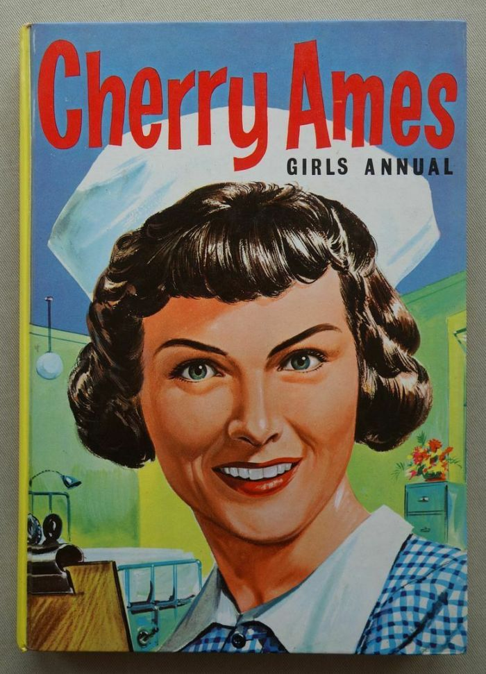 Cherry Ames Girls Annual 1964. Cherry Ames is the central character in a series of 27 mystery novels with hospital settings published by Grosset & Dunlap between 1943 and 1968