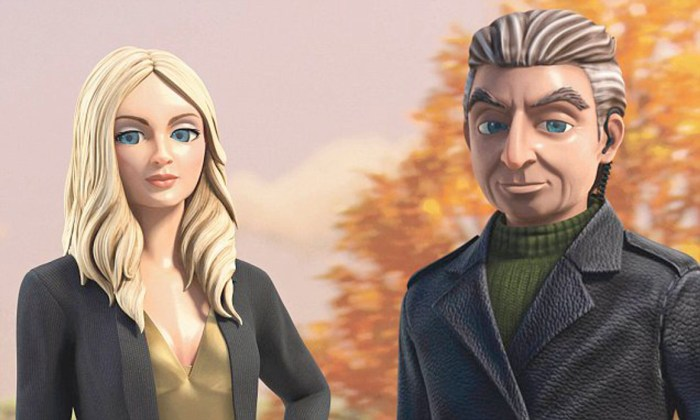 Thunderbirds are Go - Lady Penelope and Parker