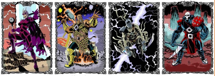 Only Death Can Save Us Sample art by Russ Leach