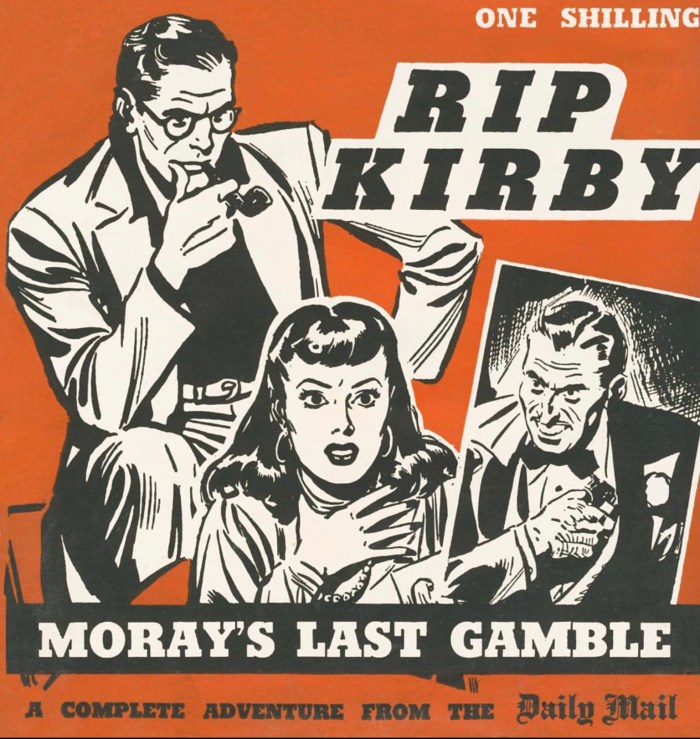 A  Daily Mail collection of a Rip Kirby story, published in 1955