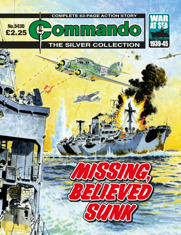 Commando 5430: Silver Collection - Missing, Believed Sunk