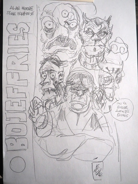 The Bojeffries Saga - Variant French Collection Cover by Lefeuvre Laurent - Work in Progress