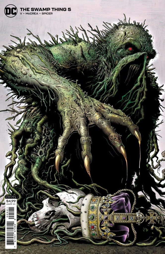 The Swamp Thing #5 - Cover by Brian Bolland
