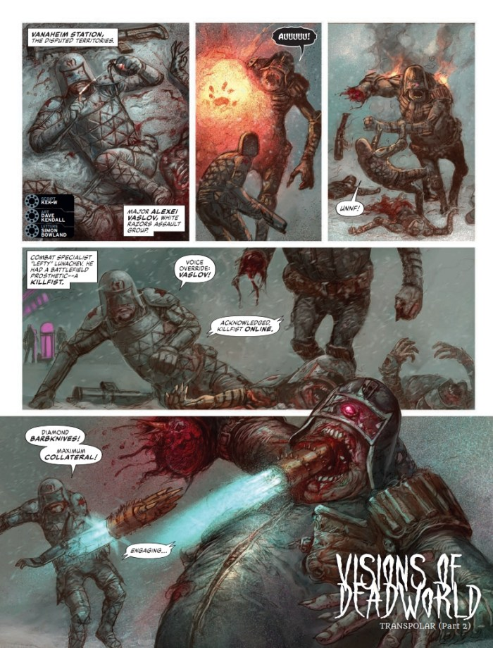 2000AD 2230 - Visions of Deadworld: Transpolar