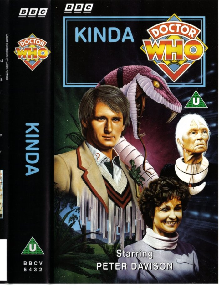Doctor Who - Kinda - BBC Video Sleeve by Colin Howard