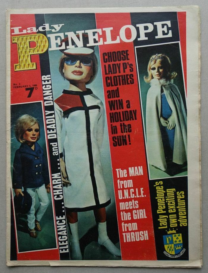 Lady Penelope No. 3, cover dated 5th February 1966