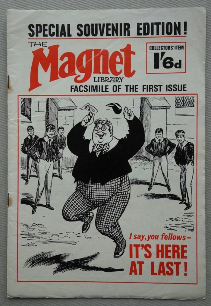 Magnet Library Facsimile of Issue 1 (1965) Storypaper featuring Billy Bunter