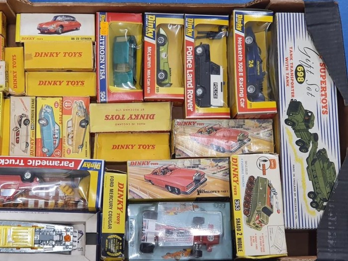 Gerry Anderson Dinky Toys and more, coming up for sale through Excalibur Auctions in May 2021