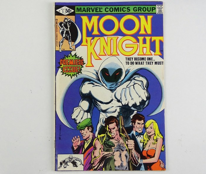 Moon Knight #1 - (1980 - MARVEL) - Origin of Moon Knight + First appearance of the villain Raoul Bushman - Bill Sienkiewicz cover and interior art