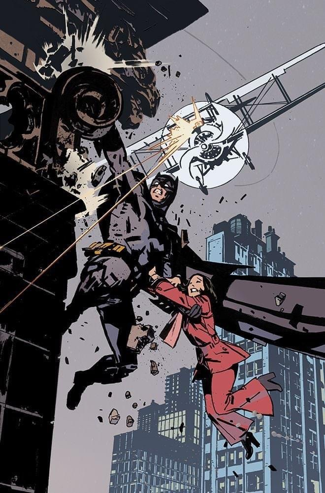 """A tribute to Alex Toth's fabulous Detective Comics Batman strip """"Death Flies the Haunted Skies"""". """"Needless to say John Paul proved himself to be the perfect successor to Toth,"""" says artist David Roach"""