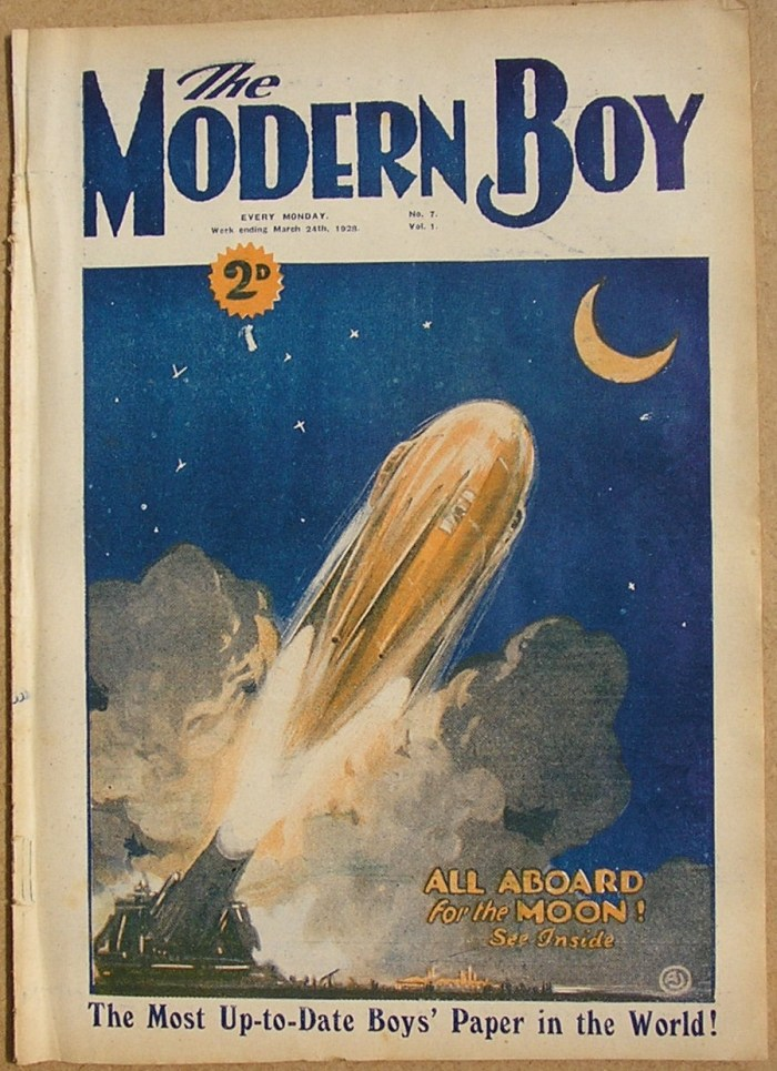 The Modern Boy No. 7, cover dated 24th March 1928