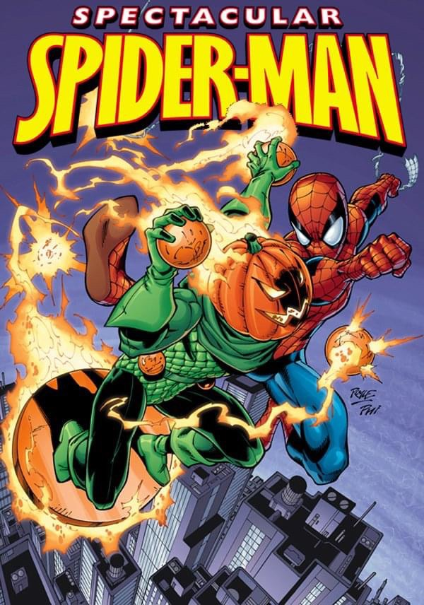 Spectacular Spider-Man - cover by John Royle