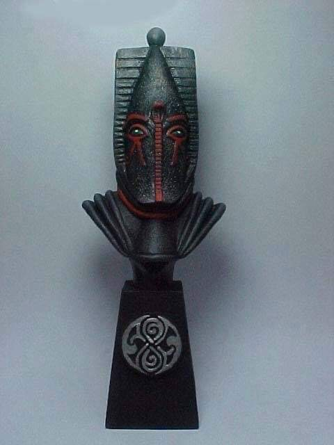 "Doctor Who sculpts by Neil ""Blackbird"" Sims - Sutekh"