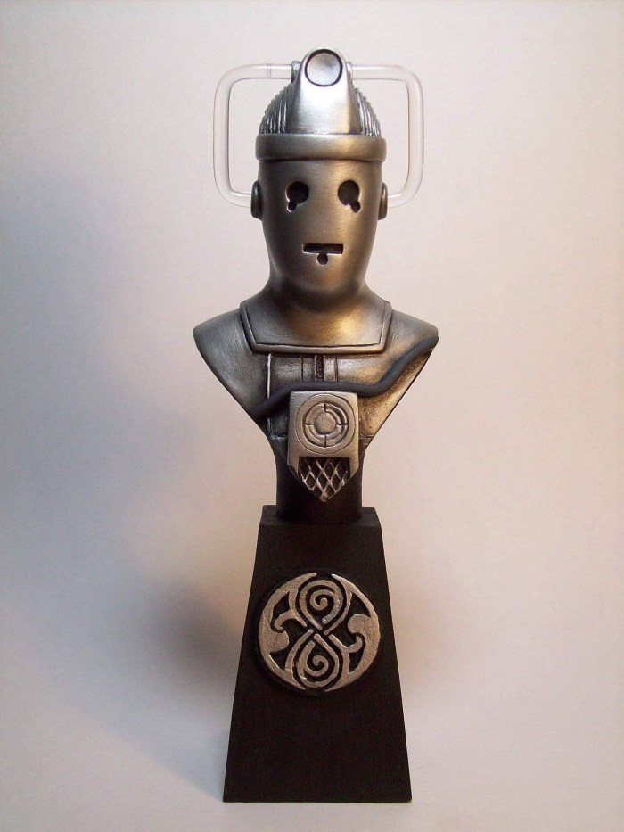 """Doctor Who sculpts by Neil """"Blackbird"""" Sims - Tomb of the Cybermen"""