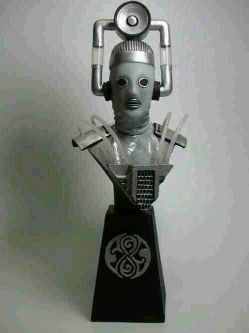 "Doctor Who sculpts by Neil ""Blackbird"" Sims - Tenth Planet Cyberman"