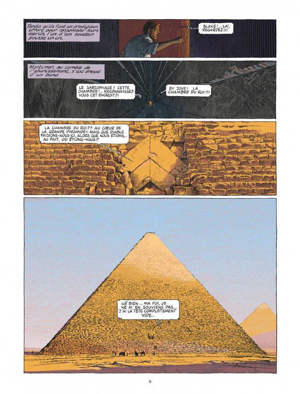 Blake and Mortimer - Le Dernier Pharaon - Sample Art