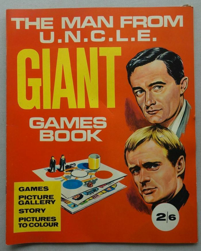 The Man From Uncle Giant Games Book 1967