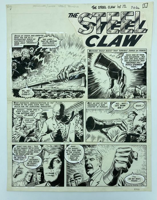 The Steel Claw by Jesus Blasco (1964)
