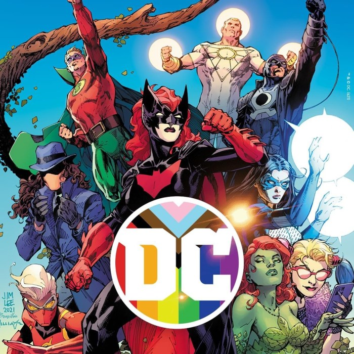 """DC Comics: """"You are welcome in the Multiverse just as you are #Pride #DCPride"""""""